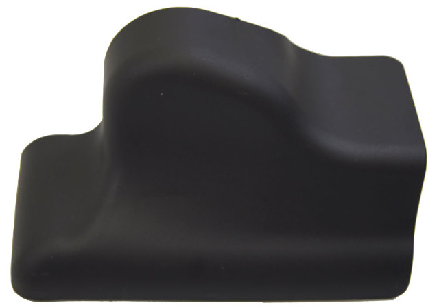 2009 Hummer H2 Rh Rear Seat Track Cover Trim Black New Oem
