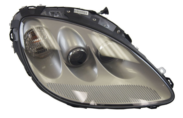 2005-2008 Chevy Corvette C6 RH Domestic Headlamp Machine Silver New OEM 25867780