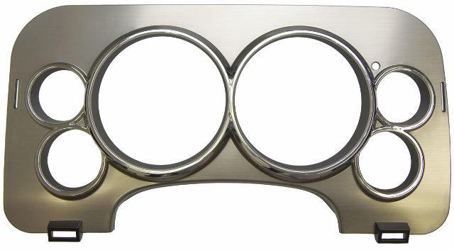 2008 2009 hummer h2 instrument gauge cluster trim bronze