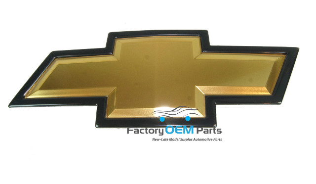 genuine chevrolet chevy bowtie emblem hd silverado 2500. Black Bedroom Furniture Sets. Home Design Ideas