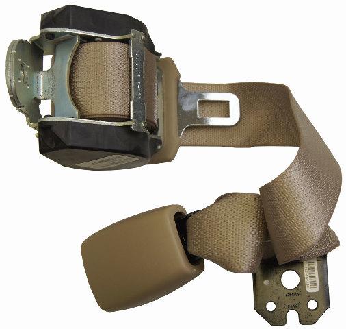 2004-2009 Malibu Aura G6 Rear Center Seat Belt Neutral Tan New 25906521 19180011