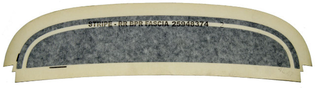 Pontiac Solstice Street Edition Rear Bumper Decal Stripe