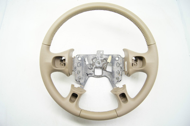 2000-2005 Buick LeSabre Steering Wheel Med Neutral Leather