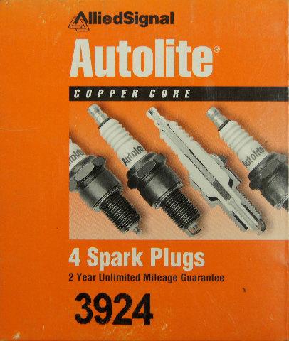 Autolite Spark Plugs 3924 Copper Core Pack Of 4 Nos