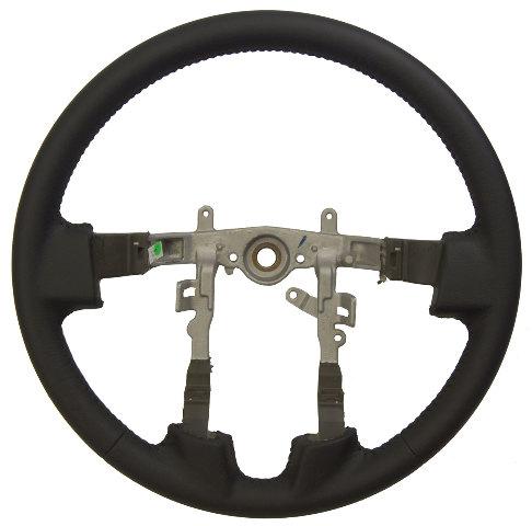 2007 2009 Mitsubishi Galant Black Leather Wrapped Steering