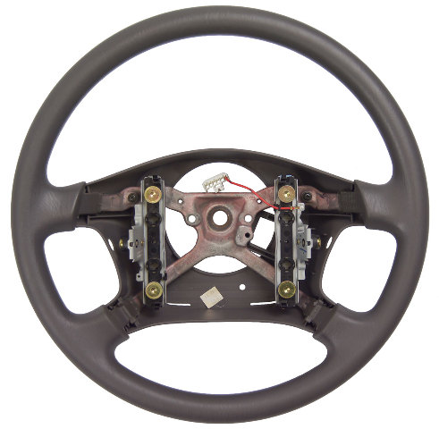 B Toyota Tundra Steering Wheel W O Cruise Control Dark Charcoal Grey New Oem on 2001 Mitsubishi Galant No Heat
