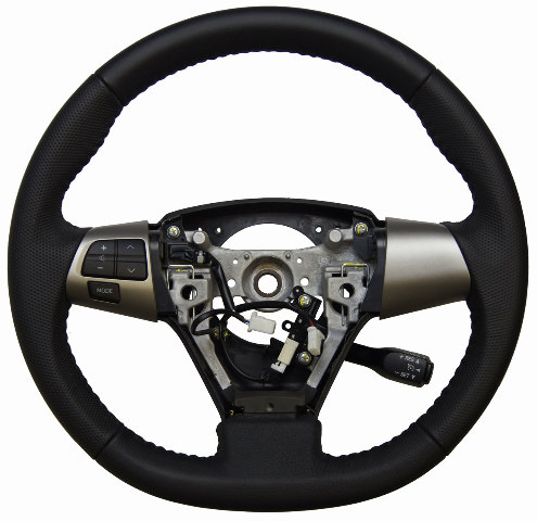 2011 13 Toyota Matrix Steering Wheel Black Leather W