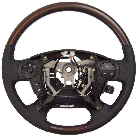 2011 Toyota Sequoia Platinum Steering Wheel Black W Woodgrain New 451000c360c0i