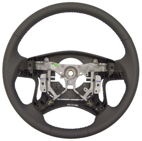 2007 2011 Toyota Camry 4 Spoke Steering Wheel Grey Leather