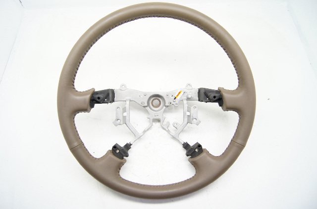 Toyota Camry 2005-2006 Steering Wheel Oak Leather Without Controls