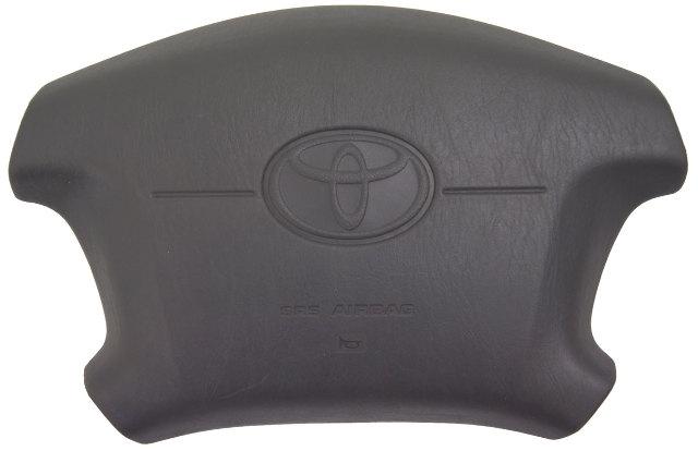 1997-2001 Toyota Camry Steering Wheel Center Horn Cover Blue Grey New OEM