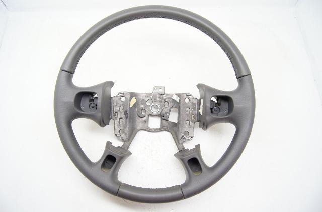 Buick LeSabre Le Sabre 2000-2005 Steering Wheel Dark Grey Leather