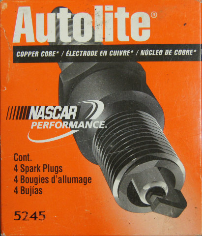 Autolite Spark Plugs 5245 Copper Core Pack Of 4 Nos