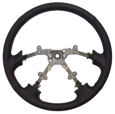 1996-1999 Subaru Legacy Steering Wheel Black Leather New OEM 4 Spoke Wheel