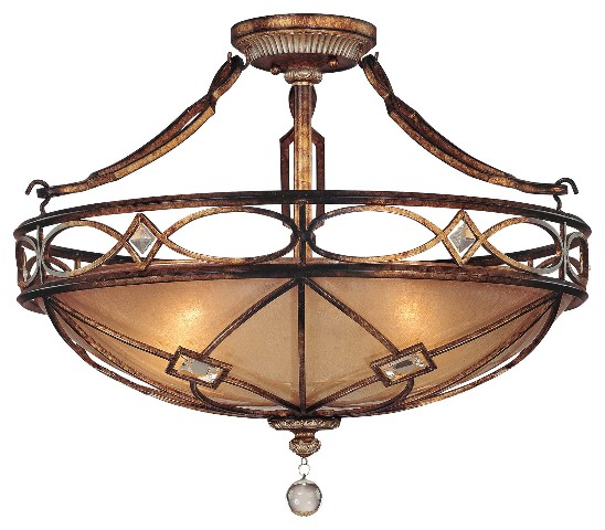 Minka Lavery 6757 206 Aston Court 3 Light Semi Flush Mount
