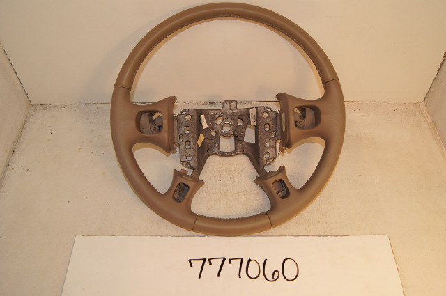 Cadillac Deville Seville Steering Wheel Blue Leather And Wood Grain With