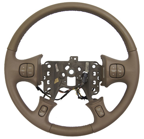 2000 2005 Buick Lesabre Steering Wheel Med Neutral Leather