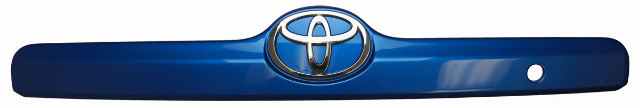 2007 08 Toyota Matrix Rear Door Trim Handle Bezel New Blue