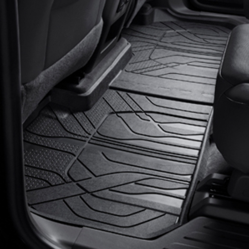 2018-2020 Chevy Traverse 2nd Row All-Weather Black Rubber Floor Mat New 84206857