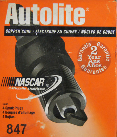 Autolite Spark Plugs 847 Copper Core Pack Of 4 Nos