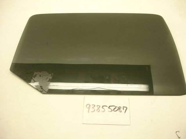 Hummer H3t Left Rear Tinted Window Gm 93355087