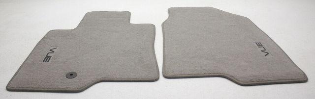 2008 Saturn Vue 4pc Floor Mat Set Front & Rear Titanium Gray Carpet New 93744556