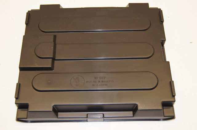 2009 T Series Truck Dual Battery Cover Topkick