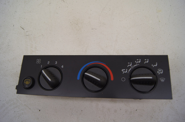 Gmc Topkick Chevy Kodiak Heat Control Panel Ac And Defrost
