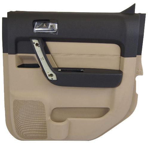2009 2010 Hummer H3t Ebony Amp Cashmere Rh Rear Door Panel