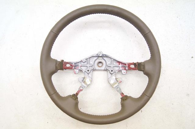 2000-2002 Mazda 626 Steering Wheel Tan Leather OEM NEW