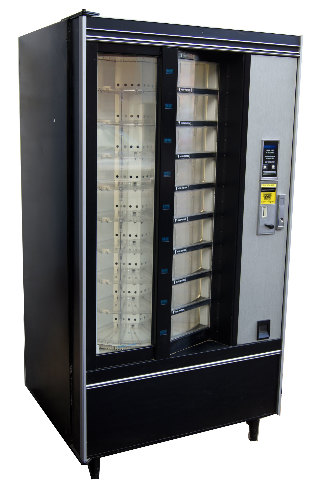 Crane National Shoppertron 431 Rotating Cold Food Vending