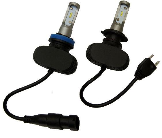 H7/H9 CSP 50W 8000 Lumen LED Headlight Bulb Kit-TRIUMPH DAYTONA 675