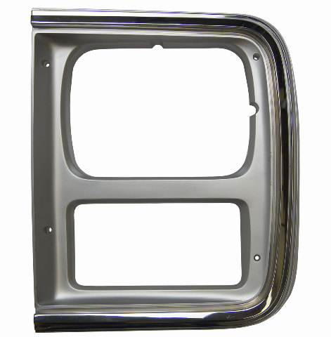 Cv Lh Chevy G G G Left Lh Headlight Bezel Chrome New Cv on 2010 Dodge Dakota Leather Seats