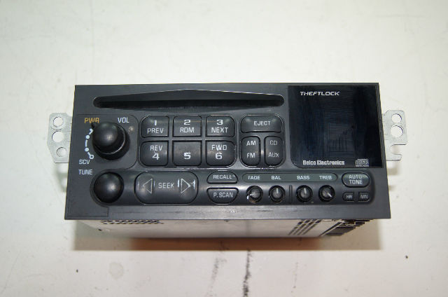 Used 97 04 C5 Corvette Delco Radio Tuner Cd Player Sms 725