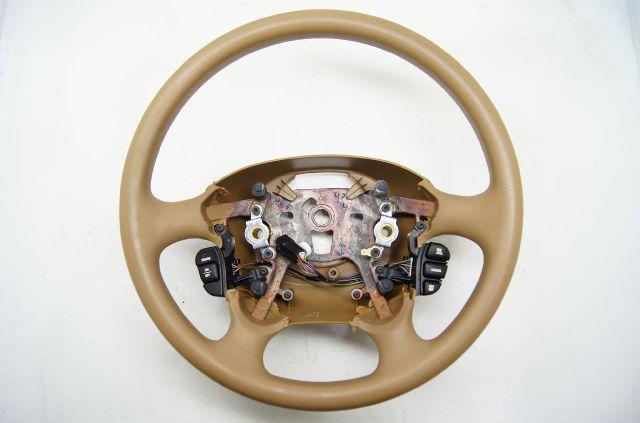 1999-2004 Oldsmobile Alero Steering Wheel Tan With Cruise Control