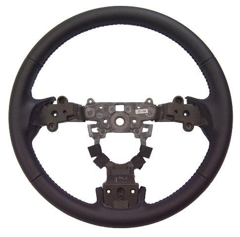 2009-2010 Mazda 6 Black Leather 3 Spoke Steering Wheel New ...