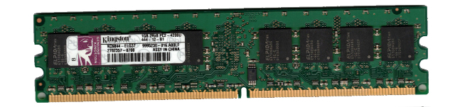 kc6844 elg37 kingston 1gb pc2 4200 533mhz 240 pin ddr2