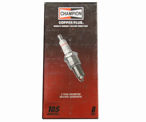 Champion Copper Plus Spark Plugs Pack Of 8 New Stock No