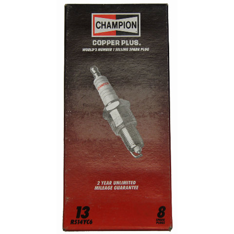 Champion Copper Plus Spark Plugs Pack of 8 New Stock No.113 RV12C