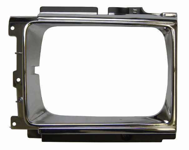 Ty Lhchrome Toyota Pickup Runner Left Headlight Bezel Chrome Ty on 1994 Dodge Dakota Center Console