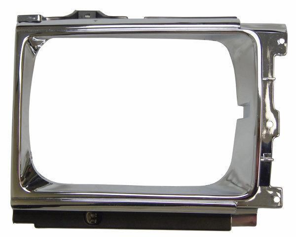 1984-1989 Toyota Pickup/4Runner Right Headlight Bezel Chrome TY07076 5313189114