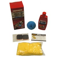 Mothers Powerball 4Lights Headlight Headlamp Restoration All-In-One Kit New