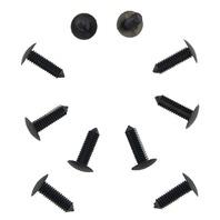 GM Push Pin Retainers New OEM Black Nylon Pack of 10 10185925 20693680 10188441