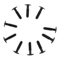 GM Push Pin Retainers New OEM Black Nylon Pack of 10 11609474