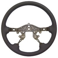 2000-2002 Mazda 626 Steering Wheel Grey Leather No Controls New OEM 1199001170