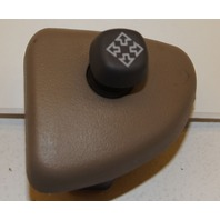 OUTSIDE LH REAR VIEW MIRROR SWITCH W/BEZEL (NEUTRAL/TAN)