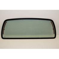 2003-2009 Kodiak/Topkick Back Glass Rear Window No Tint w/Defrost