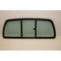 2003-2009 Kodiak/Topkick Back Glass Rear Window Tinted Slider w/o Defrost