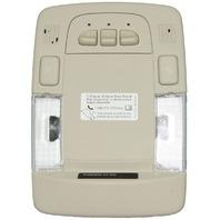2006-2011 Cadillac DTS Overhead Console LED Dome Light Linen Garage Door Opener
