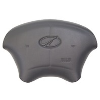 1998-2002 Oldsmobile Intrigue Steering Wheel Center Airbag Cover Dark Grey New